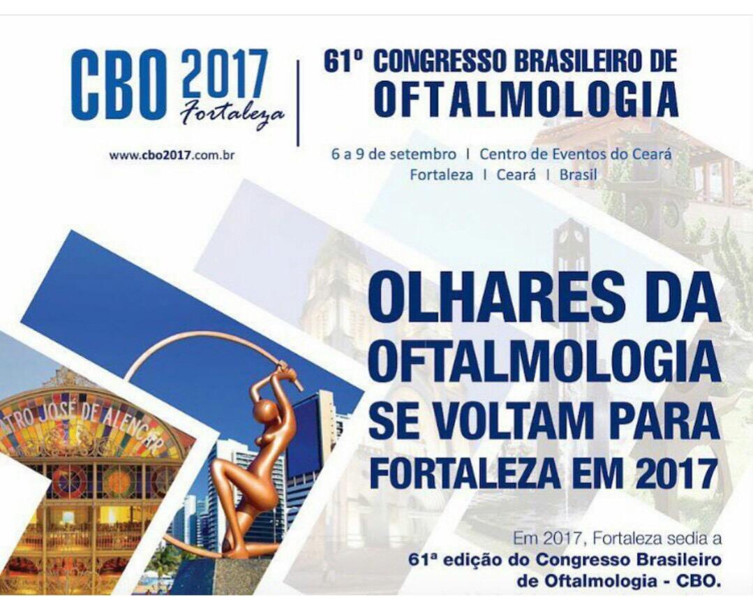 f2d3307a2 Começa hoje o CBO2017 Fortaleza | Eye Channel